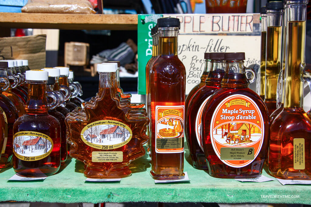 St. Jacobs Market Local Maple Syrup Stand