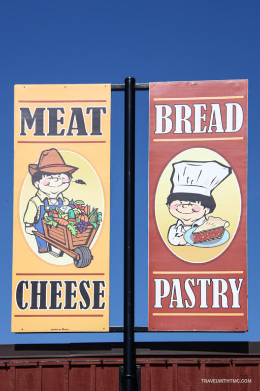 St. Jacobs Market Meat, Cheese, Bread, Pastry Signs
