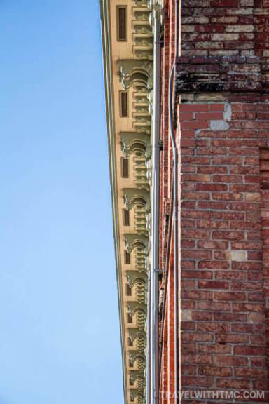 A Sky's Stretch of Details Along CASO Station Roof