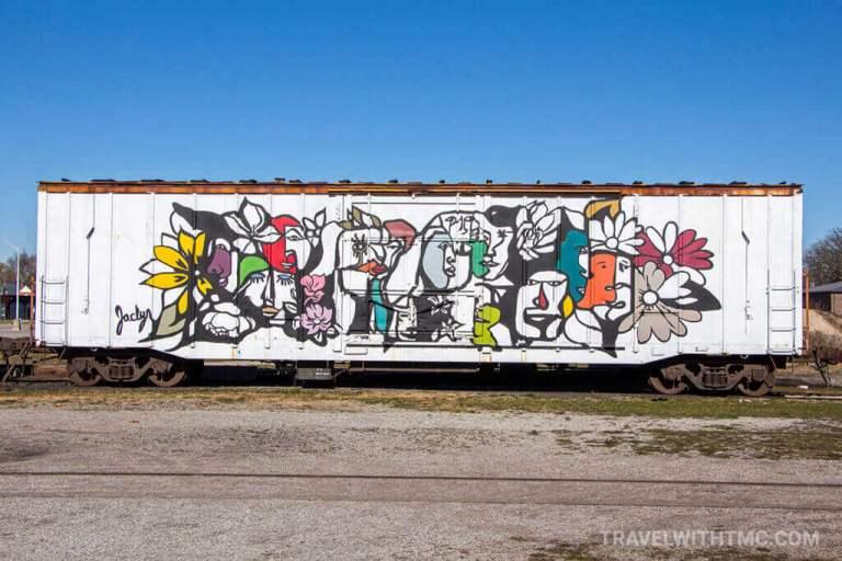 CASO Station Railcar Art by Jaclyn