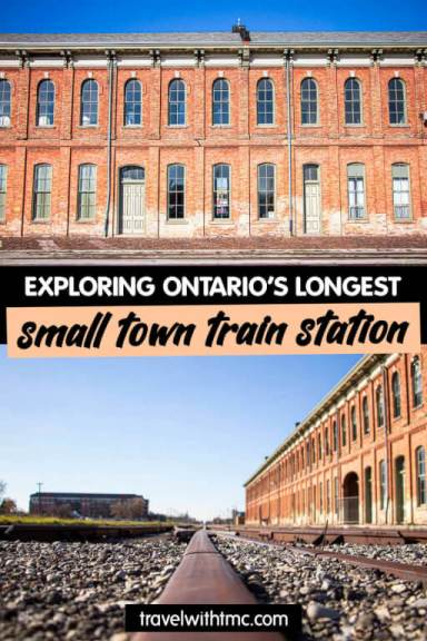 Ontario's Longest Small Town Train Station on Pinterest with Travel with TMc
