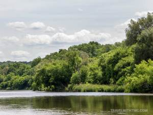 Summer Day on the Grand River in Waterloo Region