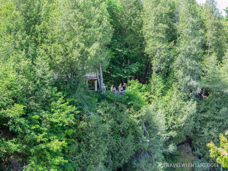 Inglis Falls in Ontario Peekaboo