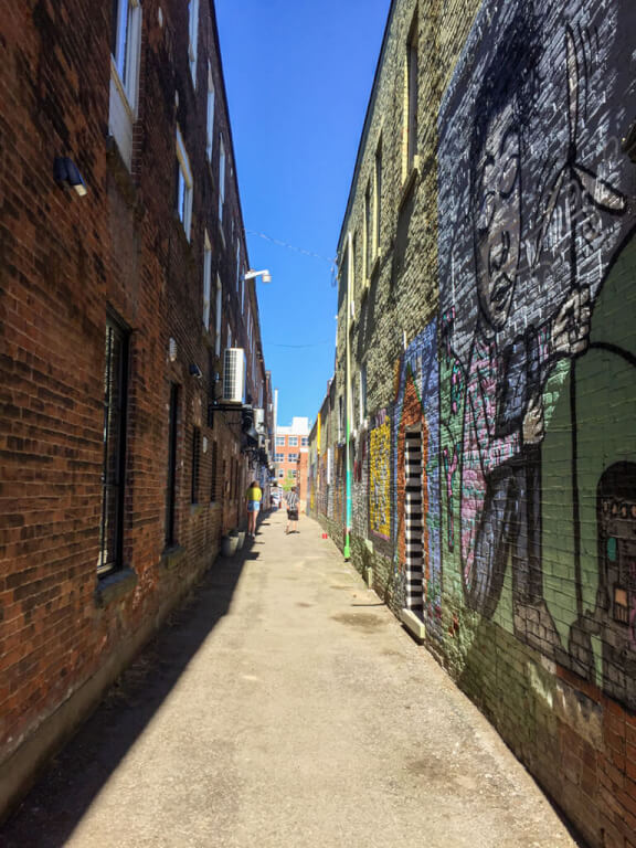The Alley Project in Owen Sound, Ontario