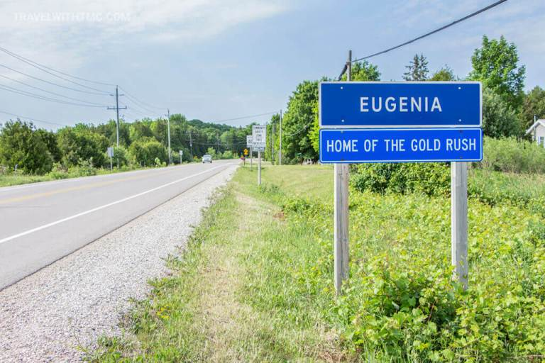 Welcome to Eugenia, Home of the Gold Rush
