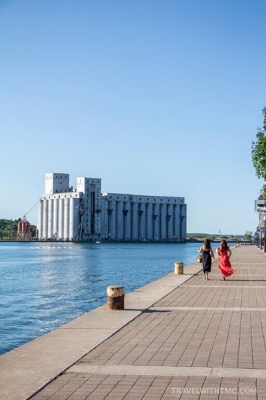 Welcome to Owen Sound's Waterfront Harbour, great for a stroll
