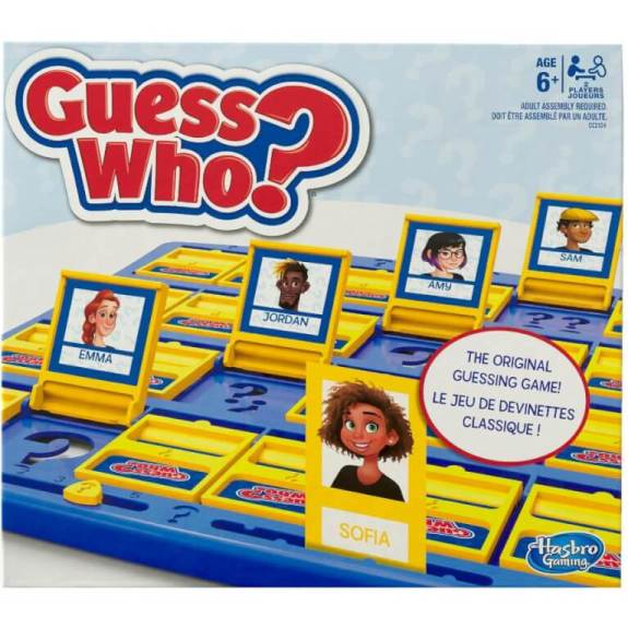 Guess Who speaking and listening game