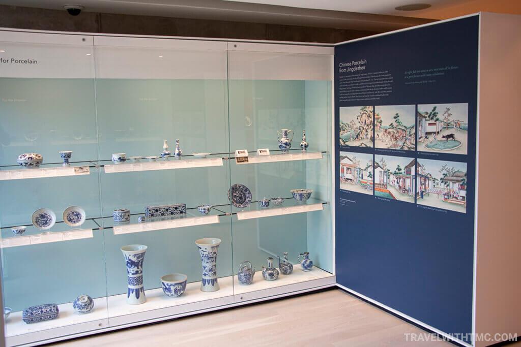Gardiner Museum display case