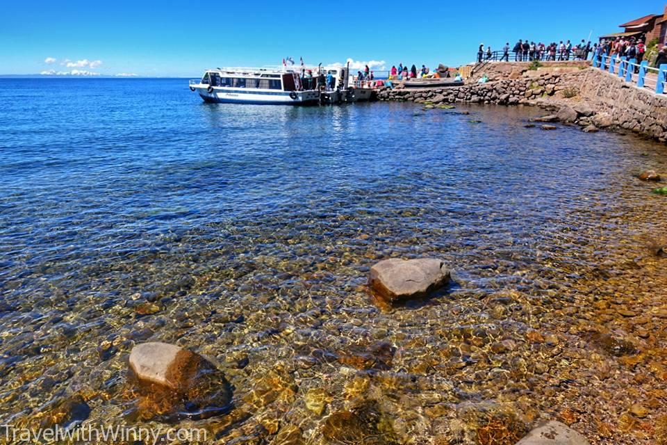 """【環遊世界第十四站】祕魯 & 玻利維亞 の Lake Titicaca 的的喀喀湖- 漂浮的 """"蘆葦島"""