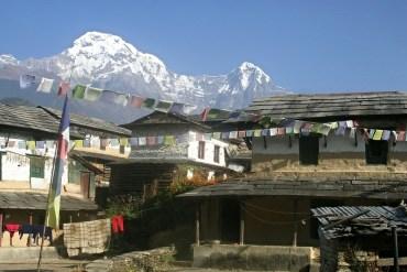 Das idyllische Gurung Dorf Ghandruk im Annapurna Sanctuary in Nepal
