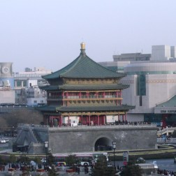 A symbol of Xi'an which was built in the 1390's.