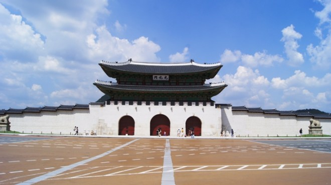 Built in 1394 (12 years before Forbidden City). It is the most magnificent thing to see in Seoul.