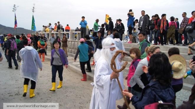Moses in Jindo Island