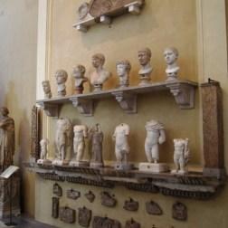 Too many statues
