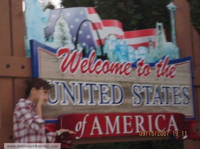 Canadian-American Border