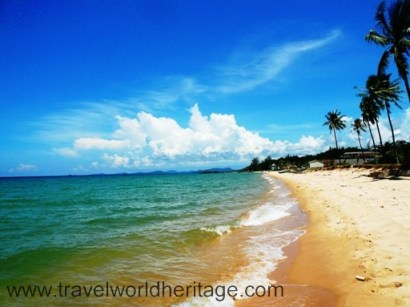 Long Beach in Phu Quoc Island. The sand may have some trash, but the water is truly majestic.