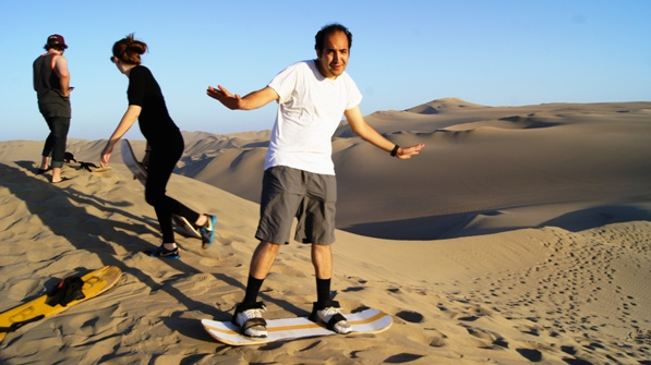 Huacachina: Sandboading and Dune Buggying Videos