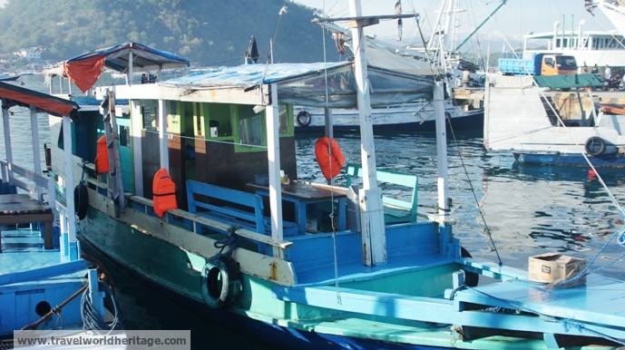 Boat - Indonesia Itinerary