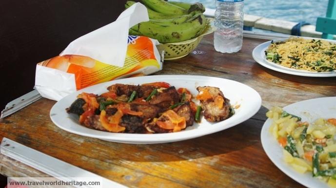Food - how to get to komodo national park