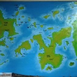 Diving Map.