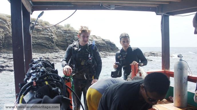Diver Alex