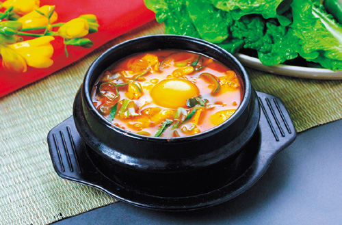 sundubujjigae - Korean main dish