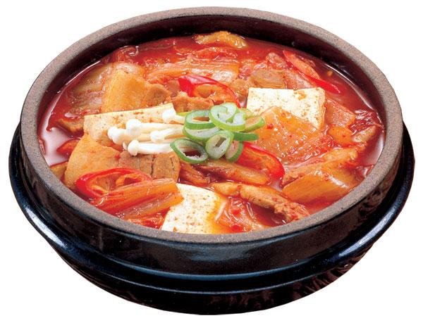 Kimchi jjigae - korean meal