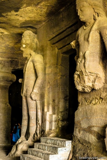 Elephanta Caves in India