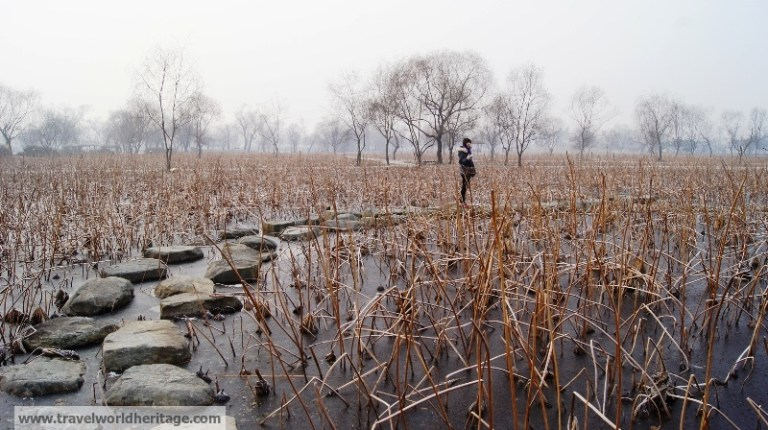 Gungnamji Pond Stones