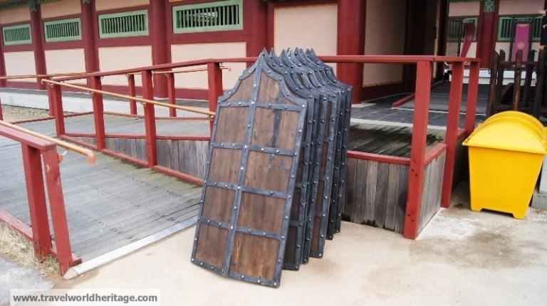 Baejke Cultural Complex Buyeo Shield