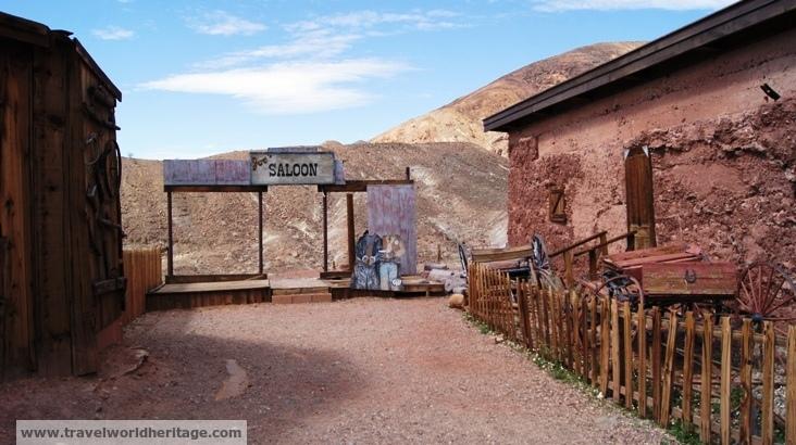 Original Facade of the town Saloon
