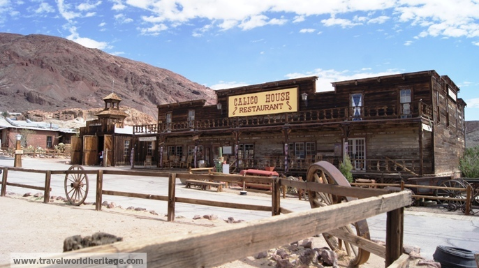 Calico Ghost Town - American Roadtrip