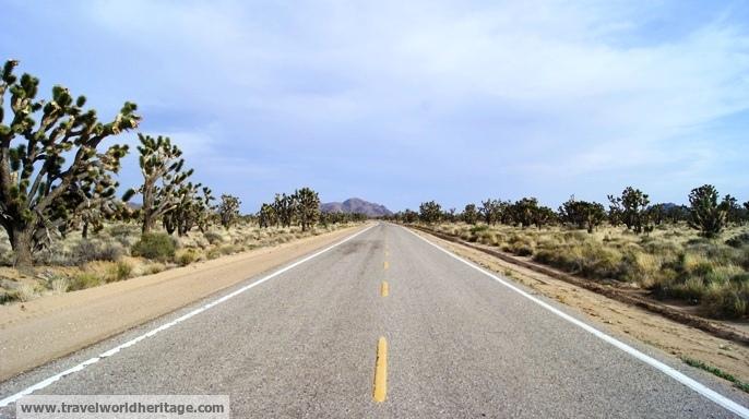 Mojave Desert in California - America roadtrip