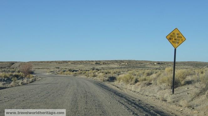 Dirt Road - Chaco Culture