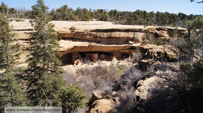 Pueblo Cliff Dwellings - American Road Trip