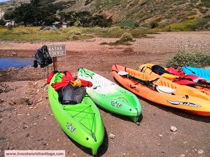 Seriously, get a kayak. The hiking is good and all, but the kayaking is unreal!