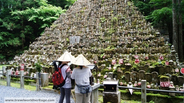 Japanese paying their respects.