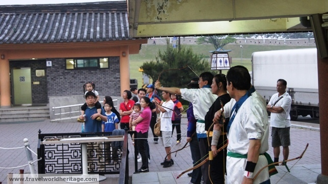 Korean Archers in Hwaseong
