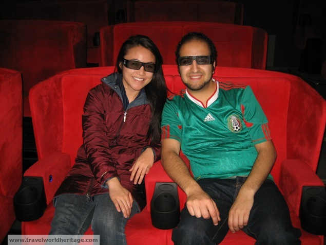 This 4D theatre opened my eyes to Japan's evil. You wouldn't lie to me would you?