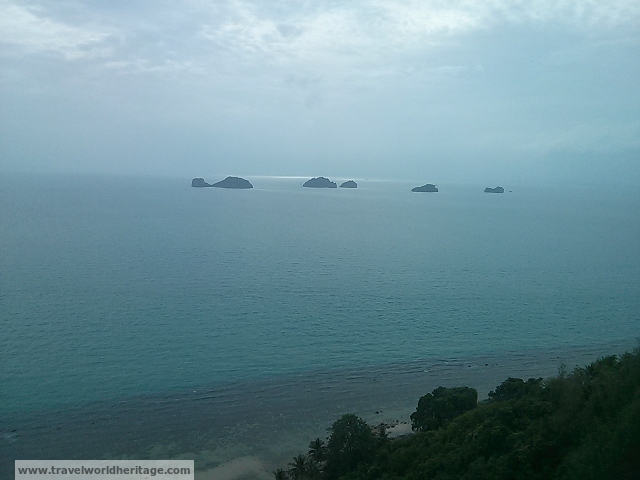 The Five Islands off of Koh Samui, Thailand.