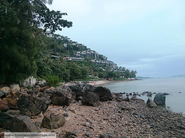 Conrad Resort Koh Samui - forbidden beach