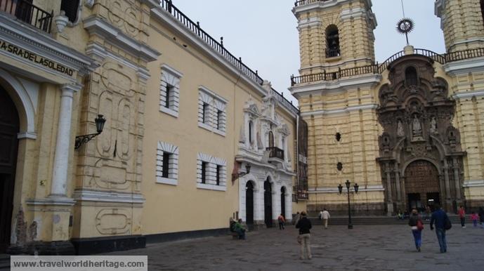 Monastery of San Francisco Lima