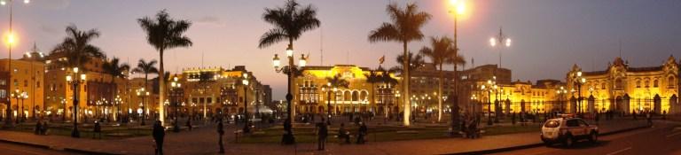 Panoramic Plaza Major Lima