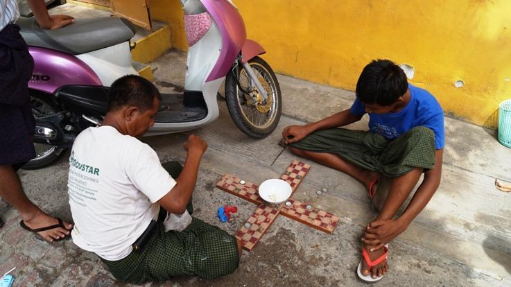 Burmese board game