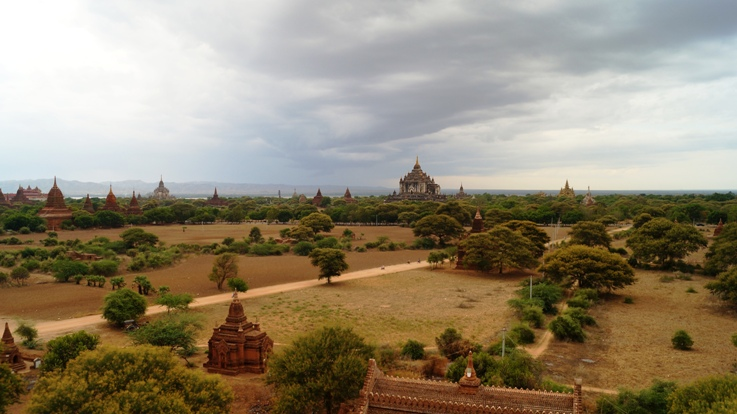 Bagan panoramic
