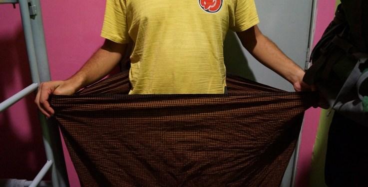 How to Wear a Longyi – Myanmar