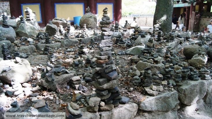 Towers of Buddhist Prayer Stones