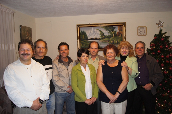 My mom's side of the family. All my aunts and uncles.