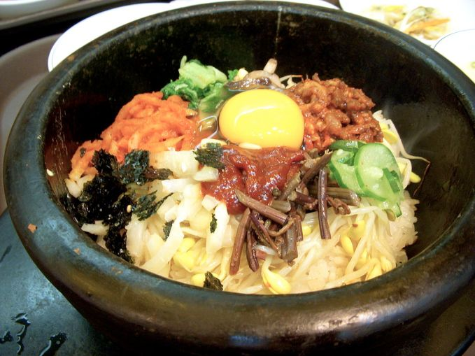 Korean Food - Bibimbap