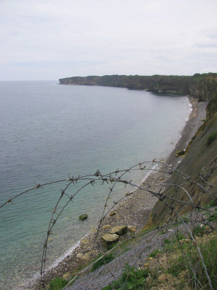 View from Pointe du Hoc, Normandy. Photo by Gary Lee Kraut